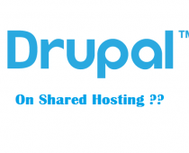 drupal on shared hosting