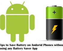 Android Battery Saving Tips