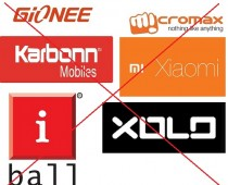 Chinese and Local Brands of Smartphones