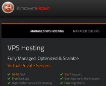 KnownHost Managed VPS Hosting