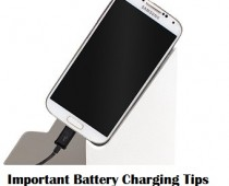 Smartphone Battery Charging Tips