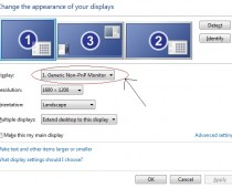 Windows Generic Non-PnP Monitor Problem