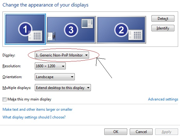 how to tell monitor resolution capabvility