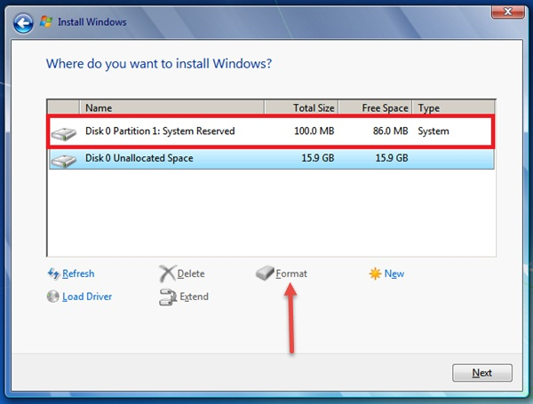 ... install a fresh copy of Windows OS. After installing Windows you may
