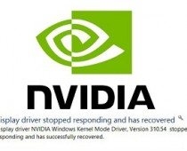 nvidia driver error