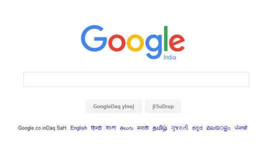 google-klingon