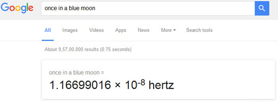 google-once-in-a-blue-moon