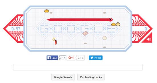 google-snake-game