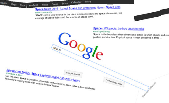 google-space