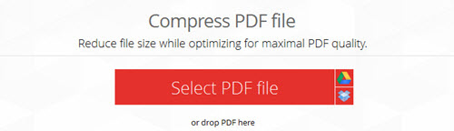 tool to compress pdf files