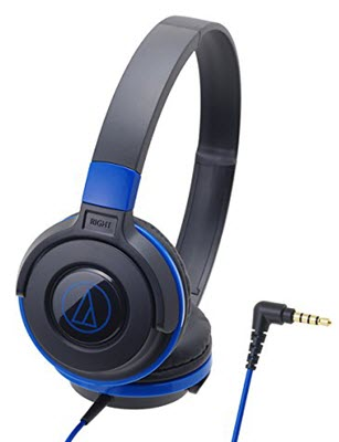 audio technica street monitoring ath-s100 bbl headphones