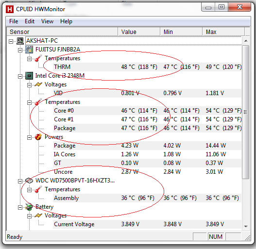 How to Check and Monitor Laptop Temperature?