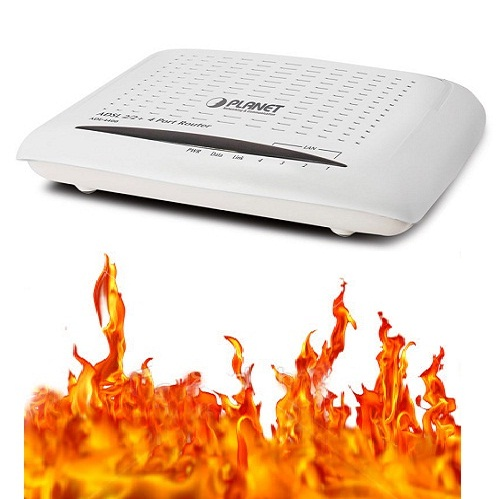 router-fire
