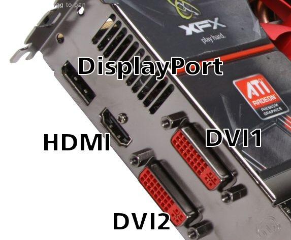 DVI-HDMI-Ports