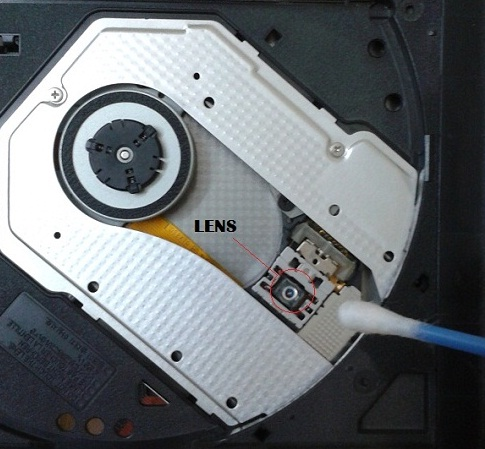 Optical-Drive-Lens-Cleaning