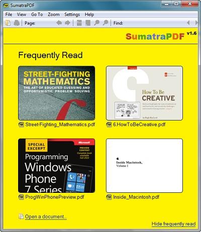 sumatra-pdf-reader