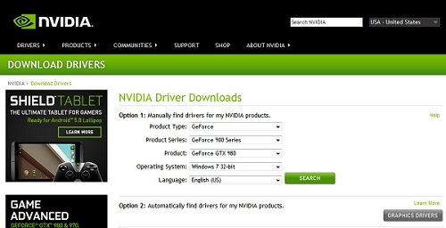 Drivers-Download-NVIDIA