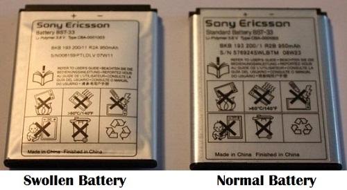 Swollen-Battery
