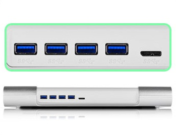 USB-Hub-Ports-in-a-Laptop-Cooler
