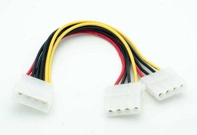 4-Pin-Molex-Power-Splitter-Cable