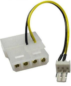 4-Pin-Molex-to-3-Pin-CPU-Fan-cable