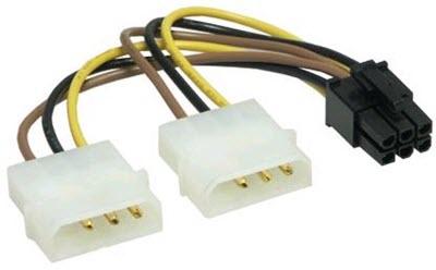 4-Pin-Molex-to-6-Pin-PCI-E-Connector
