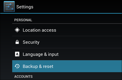 android-backup-and-reset