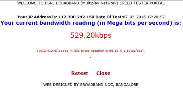 bsnl-speed