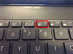 touchpad-function-key