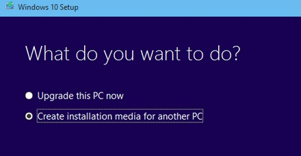 Create Installation Media For Another Pc Windows on Windows 10 Install Fail