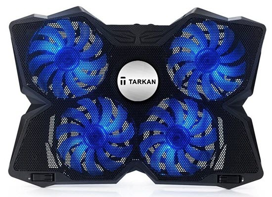 Tarkan-Heavy-Duty-LED-Gaming-Cooling-Pad-with-4-Fans