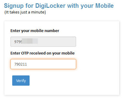digilocker-register-otp