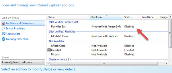 disable-addons-ie