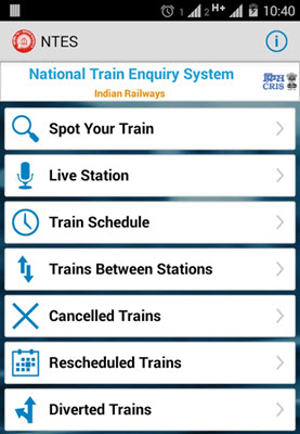 Best Indian Railway Apps For Android Iphone Windows Phone