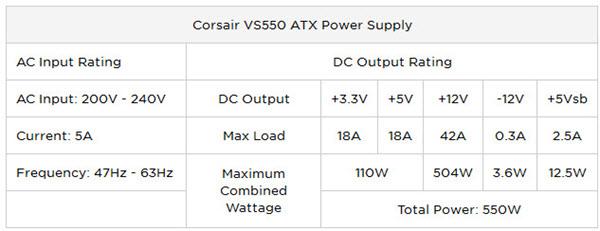 corsair-vs550-table