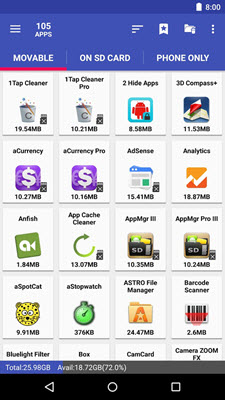 5 Best App2SD Apps for Moving Android Apps to SD Card